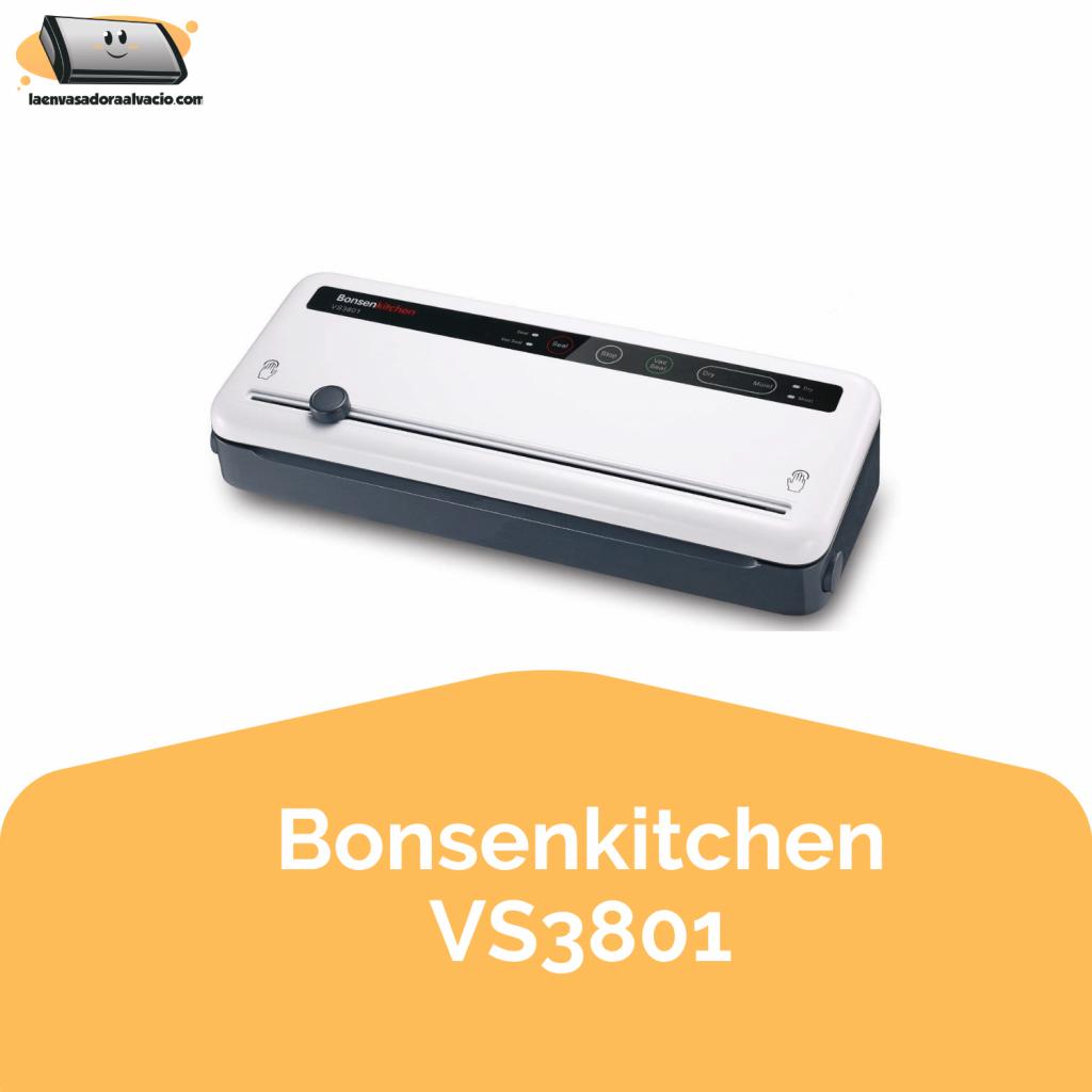 envasadora al vacio Bonsenkitchen VS3801