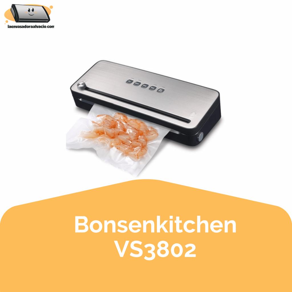 envasadora al vacio Bonsenkitchen VS3802