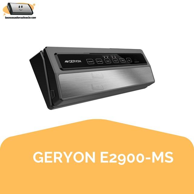 envasadora al vacío GERYON E2900-MS